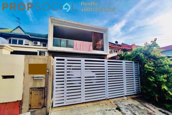 Terrace For Sale in Taman Setapak Indah, Setapak Freehold Semi Furnished 4R/3B 850k