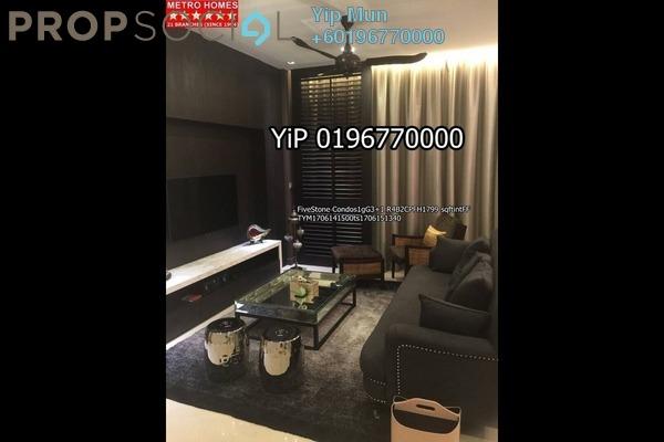Condominium For Rent in Five Stones, Petaling Jaya Freehold Semi Furnished 5R/4B 5k