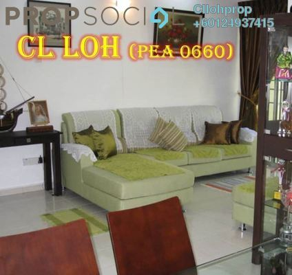 Apartment For Sale in Putra Place, Bayan Indah Freehold Semi Furnished 3R/2B 470k