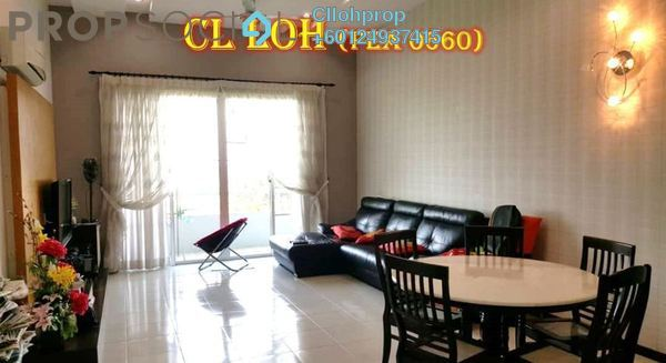 Condominium For Sale in BaysWater, Gelugor Freehold Semi Furnished 3R/3B 1.1m