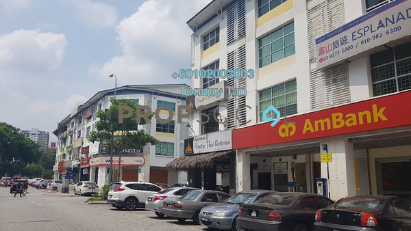 Shop For Rent in Dataran Dwitasik, Bandar Sri Permaisuri Freehold Unfurnished 0R/0B 3k