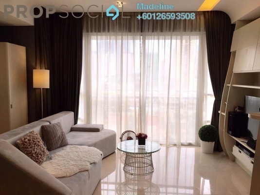 Condominium For Sale in VERVE Suites, Mont Kiara Freehold Fully Furnished 2R/2B 1.1m