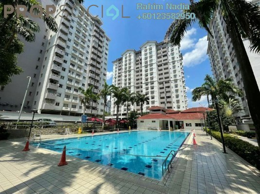 Apartment For Sale in Jalil Damai, Bukit Jalil Freehold Semi Furnished 3R/2B 420k