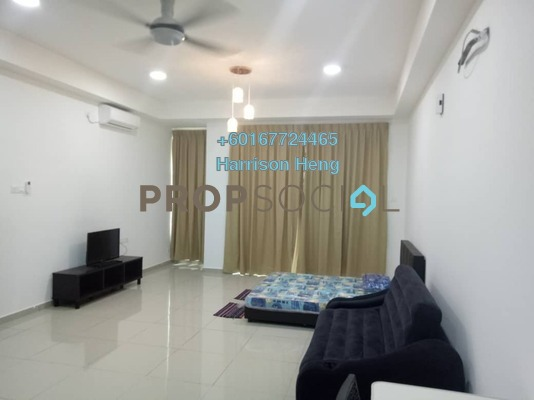 Serviced Residence For Rent in D'Carlton Seaview Residences, Masai Freehold Fully Furnished 1R/1B 1.2k
