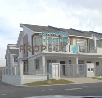 Land For Rent in Meridin East, Pasir Gudang Freehold Fully Furnished 4R/3B 1.9k