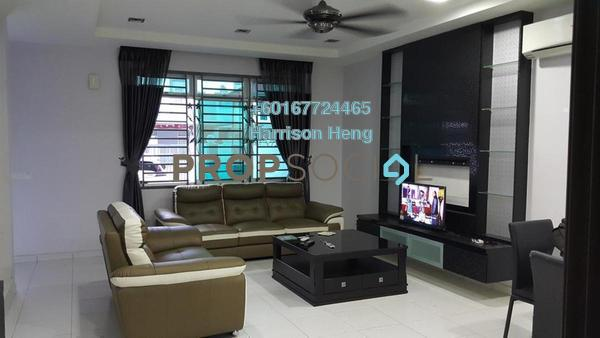 Terrace For Sale in Villosa, Bukit Indah Freehold Fully Furnished 4R/4B 700k