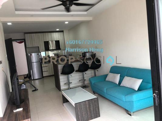 Apartment For Rent in The Garden Residences, Skudai Freehold Fully Furnished 1R/1B 1.3k