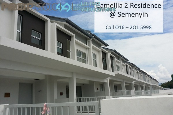 Terrace For Sale in Camellia Residence, Semenyih Freehold Unfurnished 3R/2B 496k