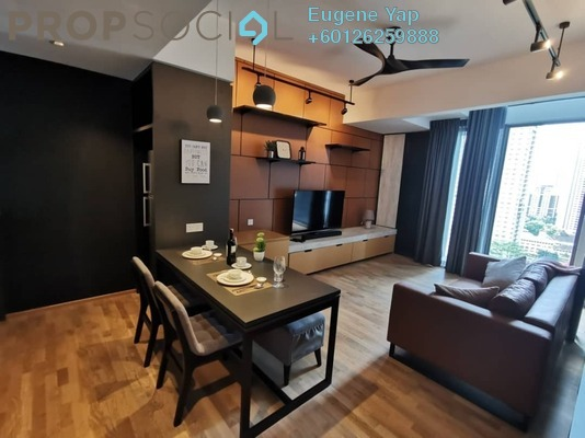Duplex For Rent in TWY Mont Kiara, Mont Kiara Freehold Fully Furnished 2R/1B 2.8k