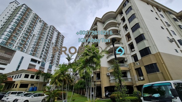 Condominium For Sale in Fairway Mansions, Kota Kinabalu Leasehold Semi Furnished 3R/2B 500k