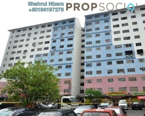 Apartment For Sale in Pangsapuri Angsana, Subang Leasehold Unfurnished 3R/2B 145k