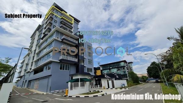 Condominium For Sale in Kondominium Ria, Kota Kinabalu Leasehold Unfurnished 3R/3B 980k