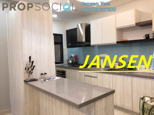 Condominium For Sale in Wellesley Residences, Butterworth Freehold Fully Furnished 3R/2B 550k