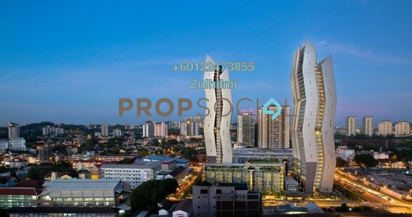 Duplex For Sale in The Capers, Sentul Freehold Fully Furnished 4R/3B 1.55m