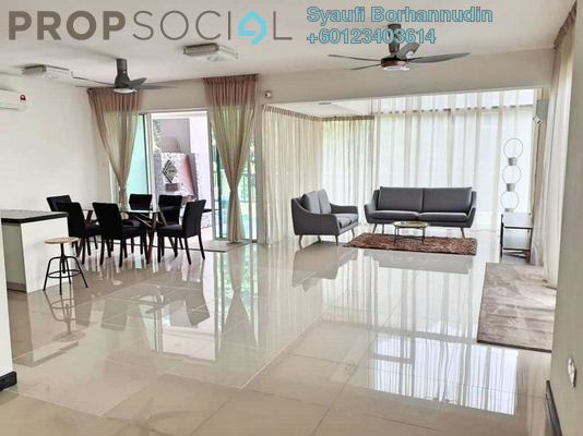 Condominium For Sale in Armanee Terrace II, Damansara Perdana Leasehold Fully Furnished 4R/5B 1.35m