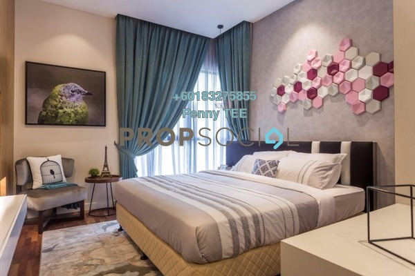 Condominium For Sale in Kaleidoscope, Setiawangsa Freehold Semi Furnished 3R/2B 623k