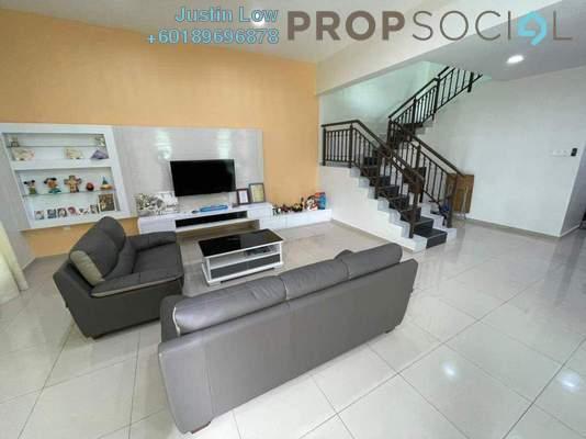 Terrace For Sale in Taman Merbok, Bukit Katil Freehold Semi Furnished 4R/3B 850k