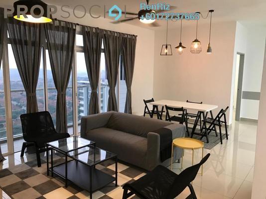 Condominium For Sale in Dwiputra Residences, Putrajaya Freehold Semi Furnished 3R/2B 640k