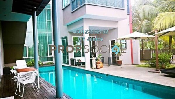 Bungalow For Sale in Perdana Lakeview East, Cyberjaya Freehold Semi Furnished 7R/7B 6.3m