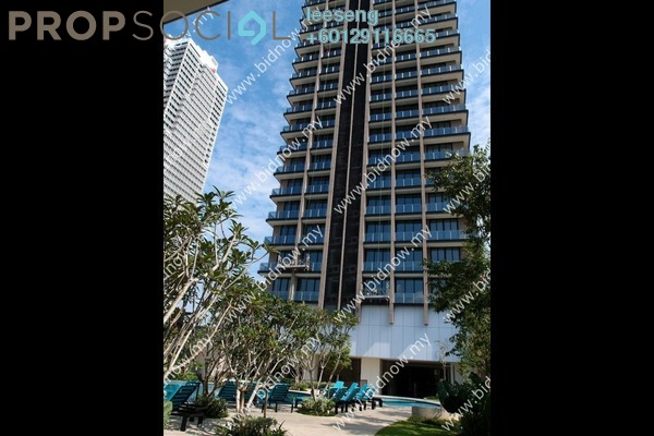 Condominium For Sale in The CapSquare Residences, Dang Wangi Freehold Unfurnished 0R/0B 689k