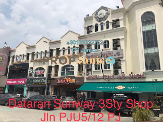 Shop For Sale in Dataran Sunway, Kota Damansara Freehold Unfurnished 0R/0B 4.49m