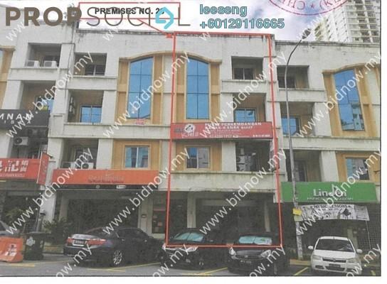 Office For Sale in Medan Putra Business Centre, Bandar Menjalara Freehold Unfurnished 0R/0B 243k