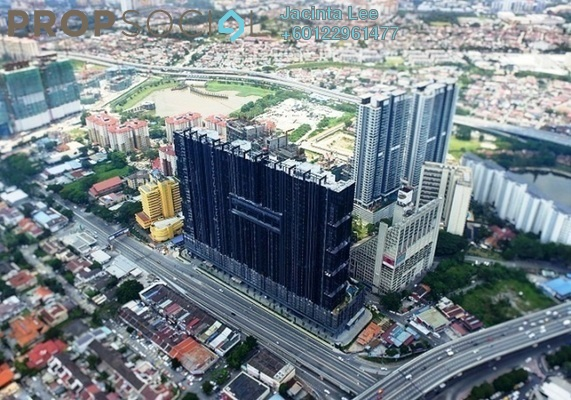 Serviced Residence For Sale in M City, Ampang Hilir Freehold Semi Furnished 1R/1B 470k