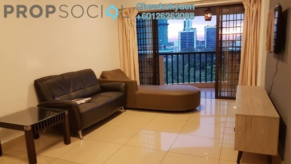 Apartment For Rent in Anjung Hijau, Bukit Jalil Freehold Fully Furnished 3R/2B 1.6k