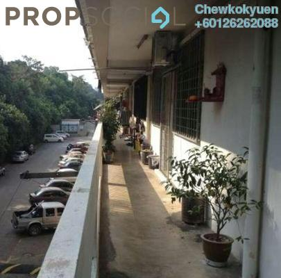 Apartment For Sale in Taman Castlefield, Sungai Besi Leasehold Semi Furnished 3R/2B 200k