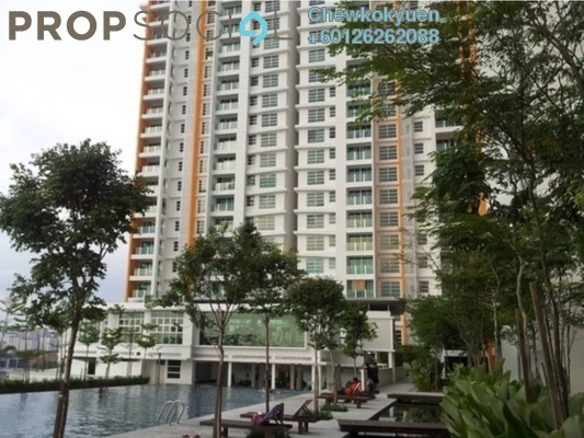 Serviced Residence For Rent in The Zest, Bandar Kinrara Freehold Semi Furnished 3R/2B 1.3k