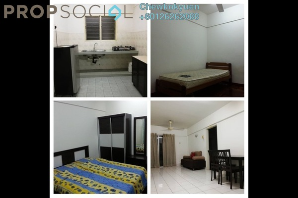 Apartment For Rent in Arena Green, Bukit Jalil Freehold Fully Furnished 2R/2B 1k