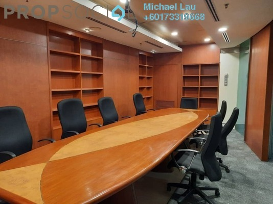 Office For Rent in Plaza Mont Kiara, Mont Kiara Freehold Fully Furnished 0R/0B 13k