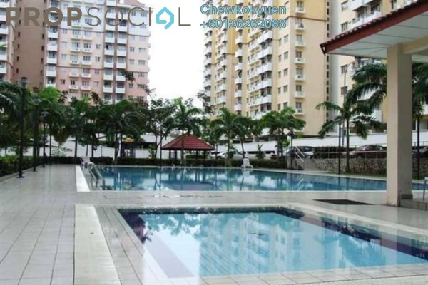 Apartment For Rent in Jalil Damai, Bukit Jalil Freehold Fully Furnished 3R/2B 1.3k