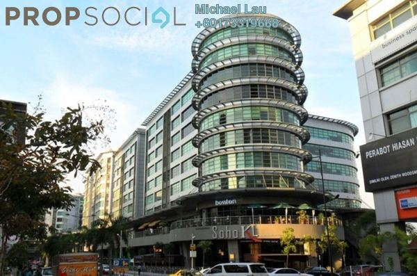 Office For Sale in Solaris Mont Kiara, Mont Kiara Freehold Fully Furnished 0R/0B 1m
