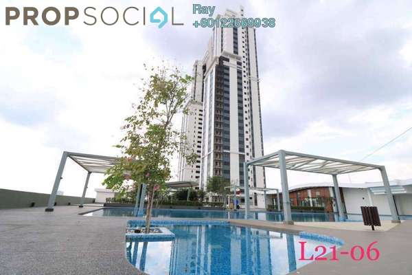Serviced Residence For Rent in The Strand, Kota Damansara Freehold Semi Furnished 3R/2B 2.5k
