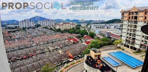 Apartment For Sale in Ixora Apartment, Kepong Freehold Semi Furnished 3R/2B 197k