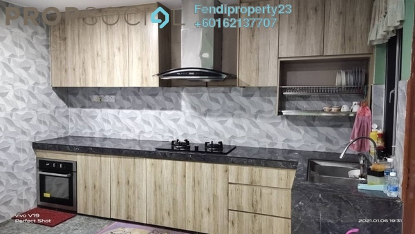 Terrace For Sale in Taman Tasik Prima, Puchong Freehold Semi Furnished 4R/3B 578k