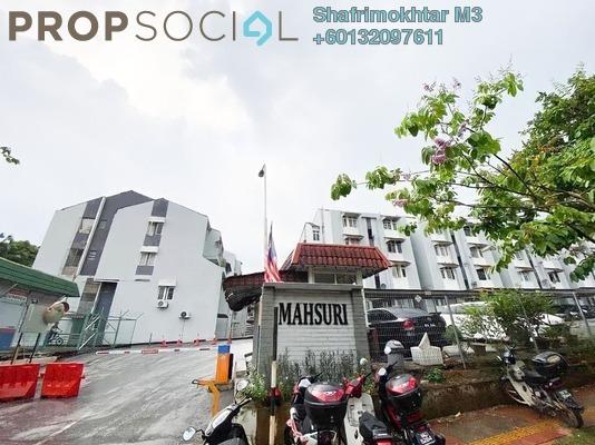 Apartment For Sale in Mahsuri Apartment, Setiawangsa Freehold Semi Furnished 2R/2B 340k