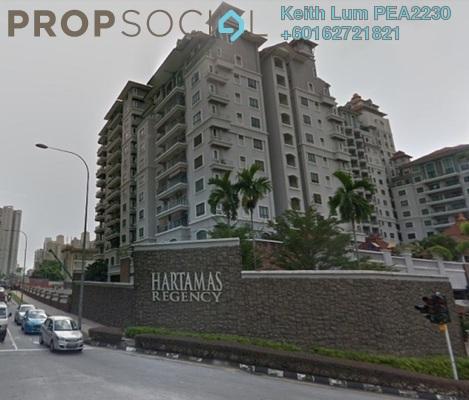 Condominium For Rent in Hartamas Regency 1, Dutamas Freehold Fully Furnished 4R/4B 3.8k