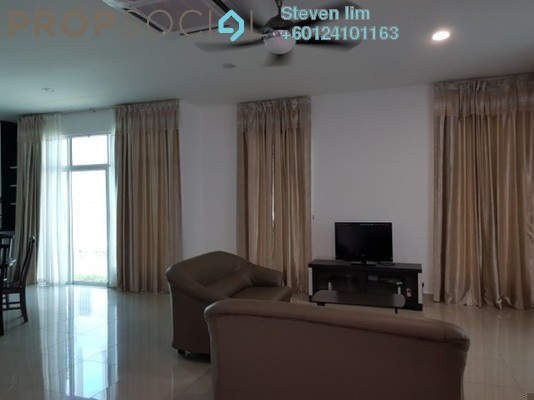 Semi-Detached For Rent in Clover @ Garden Residence, Cyberjaya Freehold Fully Furnished 5R/5B 3.4k
