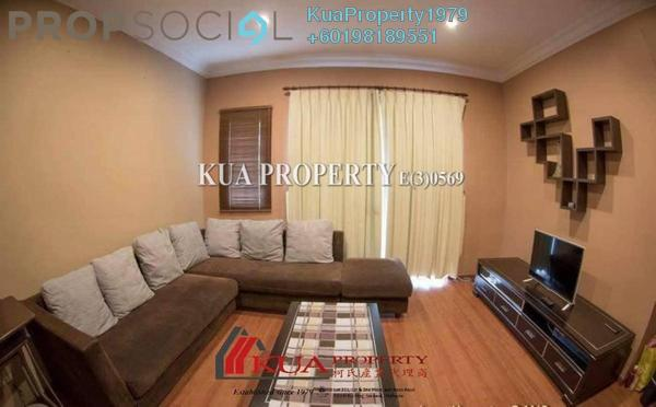 Apartment For Rent in Courtyard Sanctuary Apartment, Kuching Freehold Fully Furnished 3R/2B 1.2k