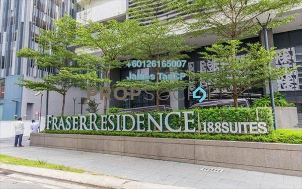 Condominium For Sale in 188 Suites, KLCC Freehold Semi Furnished 2R/1B 794k