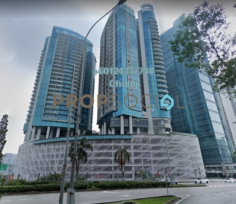 Condominium For Sale in DC Residency, Damansara Heights Freehold Unfurnished 1R/2B 1.18m