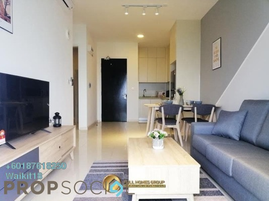 Condominium For Rent in The M-Residence @ Medini, Medini Freehold Fully Furnished 2R/1B 1.5k