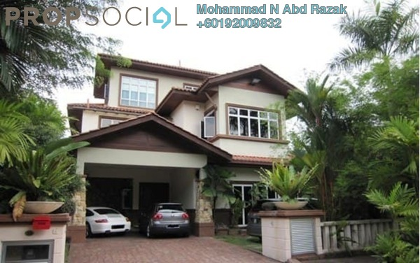Terrace For Sale in Country Heights Damansara, Kuala Lumpur Freehold Unfurnished 6R/6B 3.5m