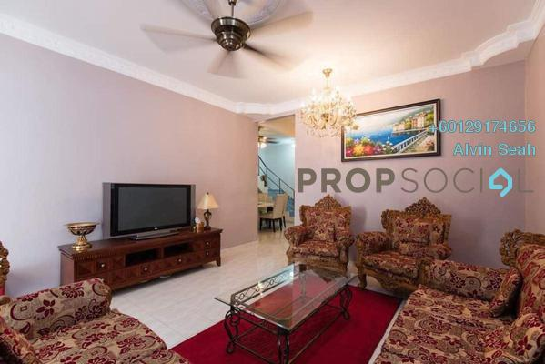 Terrace For Sale in Taman Golden, Sentul Freehold Fully Furnished 5R/2B 1.5m
