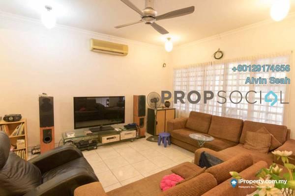 Terrace For Sale in BU10, Bandar Utama Freehold Semi Furnished 5R/4B 1.6m