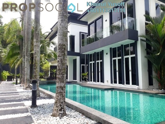 Bungalow For Sale in Country Heights Kajang, Kajang Freehold Semi Furnished 8R/10B 8.5m