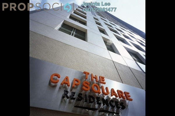 Condominium For Sale in The CapSquare Residences, Dang Wangi Freehold Semi Furnished 2R/2B 619k