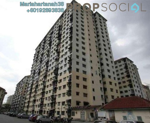 Apartment For Sale in Damai Apartment, Bandar Sunway Freehold Unfurnished 2R/1B 160k